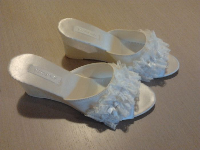 autentico preordinare stile attraente Ciabatte sposa - Shopping Acquea