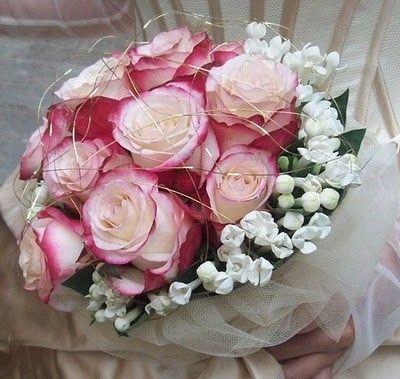 Addobo bouquet colore help me organizzazione for Rose color rosa antico