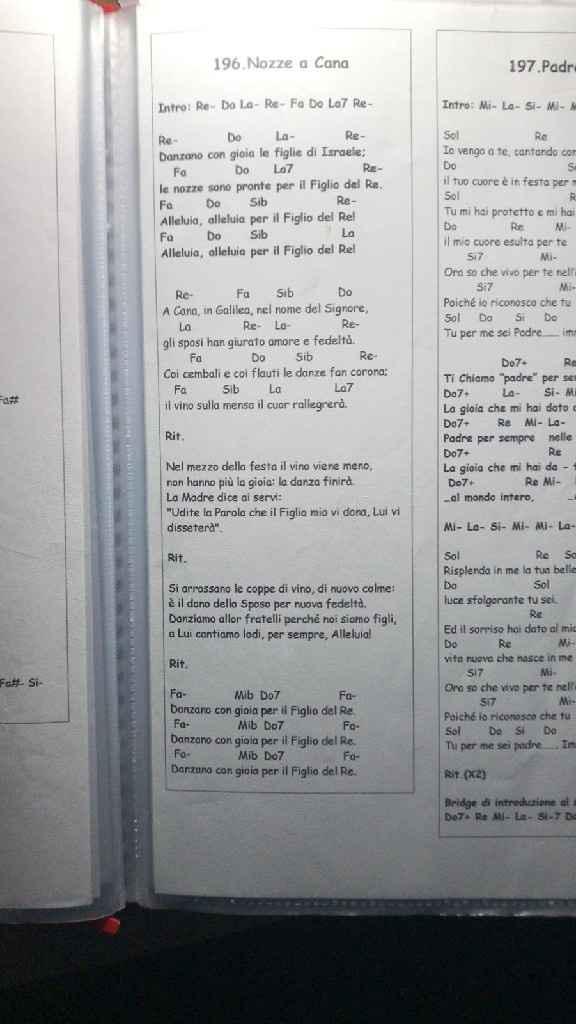 Canto Nozze a Cana - 1
