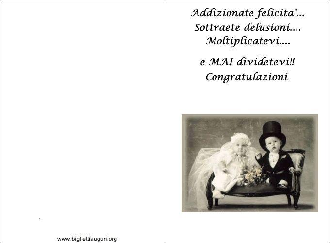 Auguri Matrimonio Napolimania : Biglietti di auguri organizzazione matrimonio forum