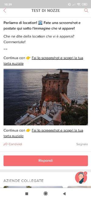 Fai lo screenshot e scopri la tua location 12
