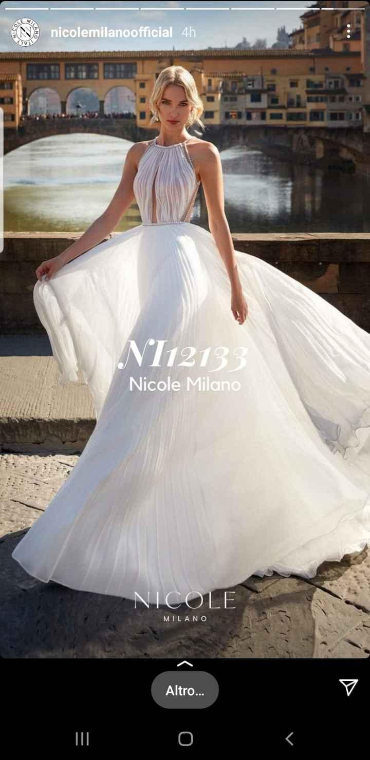 Abito Nicole Ni12133 - 1