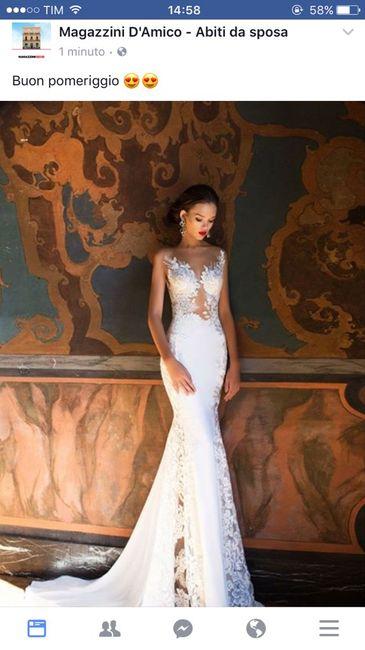 Magazzini d'amico abiti da sposa 2019