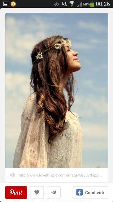 Sposa hippie chic o shabby? - 2