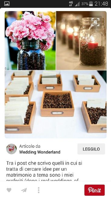 Matrimonio Tema Caffè : Matrimonio tema caffè organizzazione