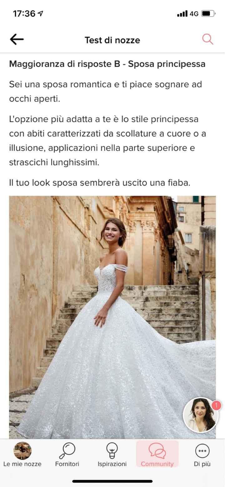 Scopri se sei una sposa principessa con questo test: il risultato - 1