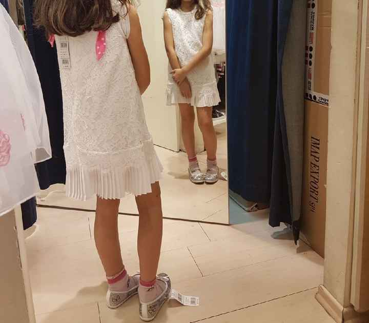 Vestito damigelle bimbe - 2