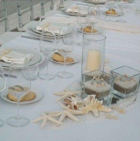 Centrotavola matrimonio tema mare fai da te forum - Tavoli rustici fai da te ...