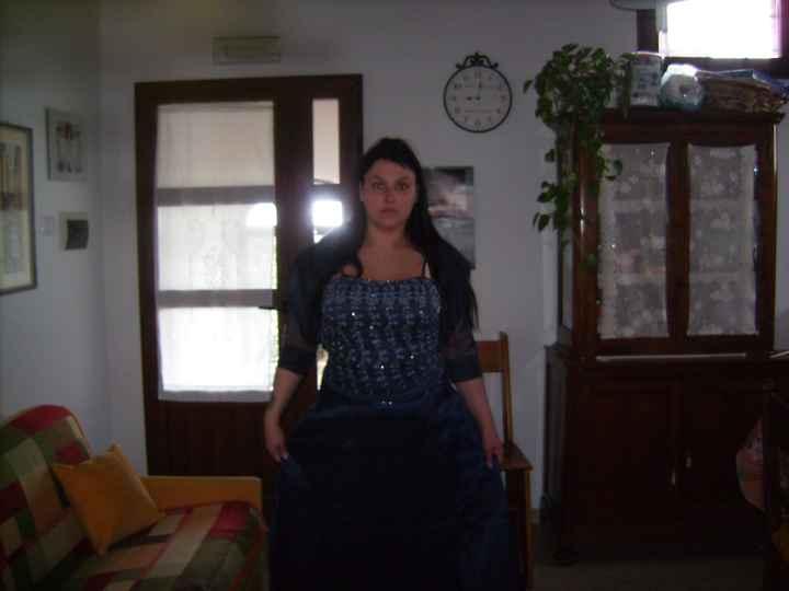 il mio vestito da cerimonia