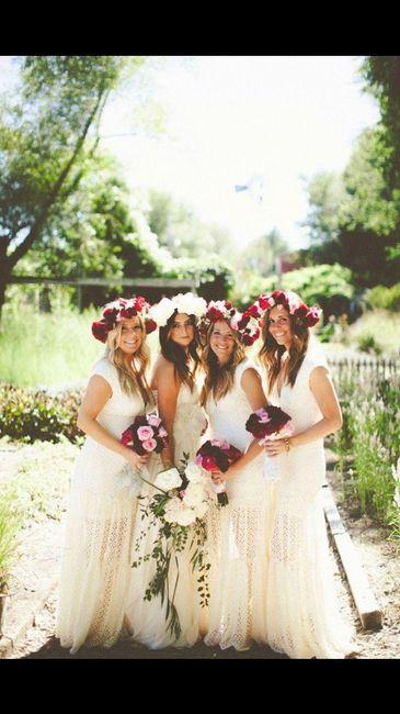 Matrimonio Bohemien Moda : Abiti sposa boho chic pagina moda nozze forum