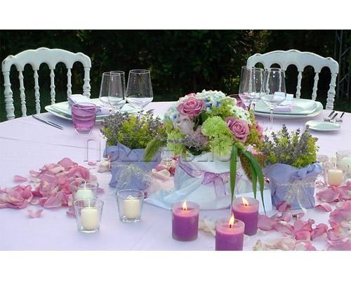 Allestimento floreale settimana rostorante - Ricevimento di nozze ...