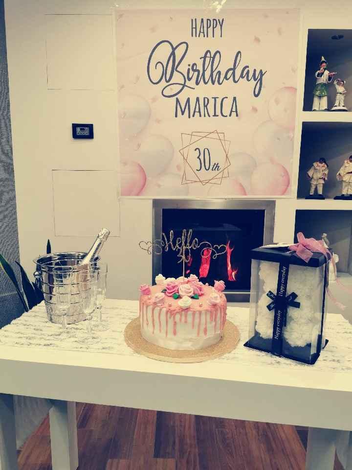 Compleanno in quarantena +30 - 1