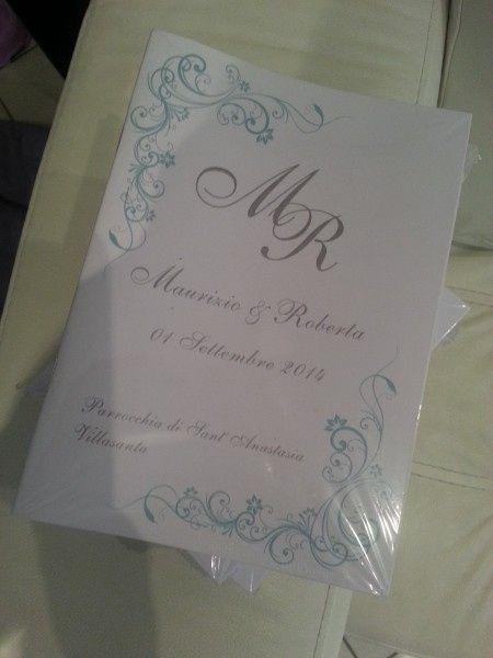 Libretti Matrimonio Rito Romano : Ecco i miei libretti messa organizzazione matrimonio forum