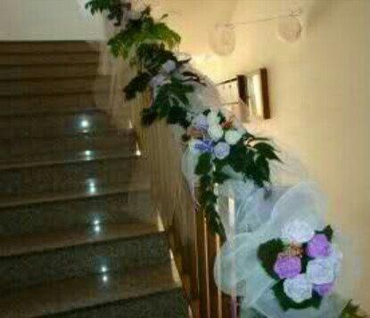Addobbi scale matrimonio dc24 pineglen - Addobbi casa sposa ...