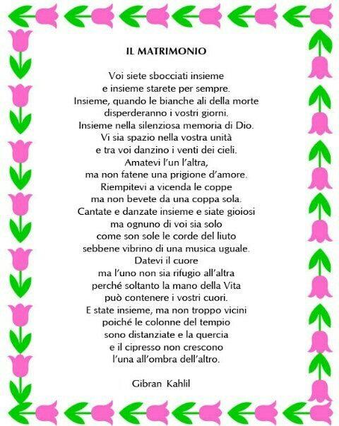 Matrimonio Tema Poesia : Poesie anni matrimonio ft regardsdefemmes