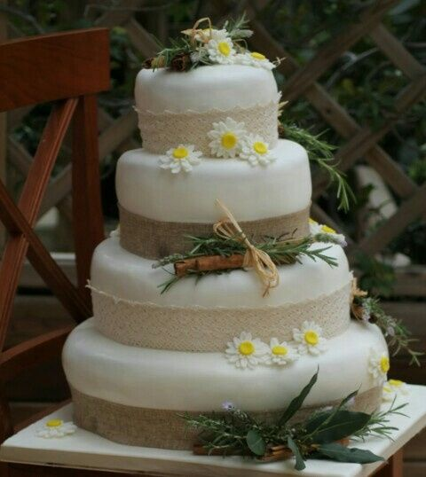 Torte Matrimonio Country Chic : Torta stile country chic ricevimento di nozze forum