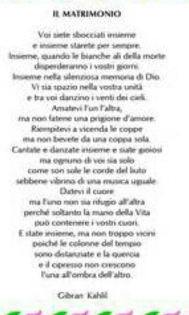 Ben noto Poesia per libretto messa - Fai da te - Forum Matrimonio.com AZ46