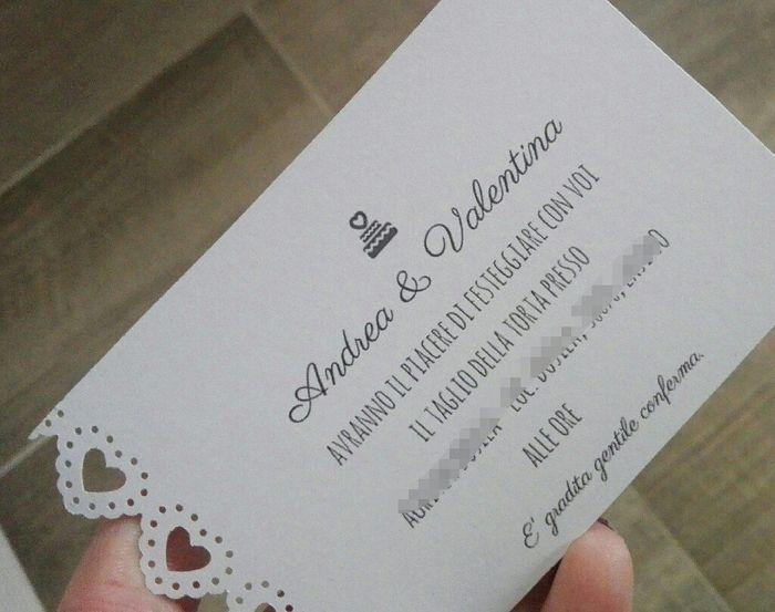 Estremamente Testo partecipazioni invitati sera - Fai da te - Forum Matrimonio.com EG42