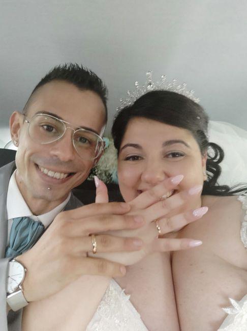 Finalmente marito e moglie 😍 1