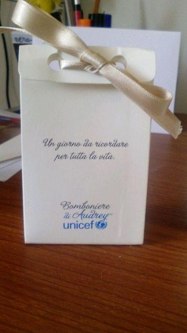 Partecipazioni Matrimonio Unicef.Bomboniere Unicef Organizzazione Matrimonio Forum Matrimonio Com