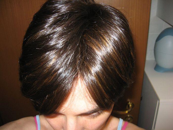 Olio per fini di spacco di applicazione di capelli