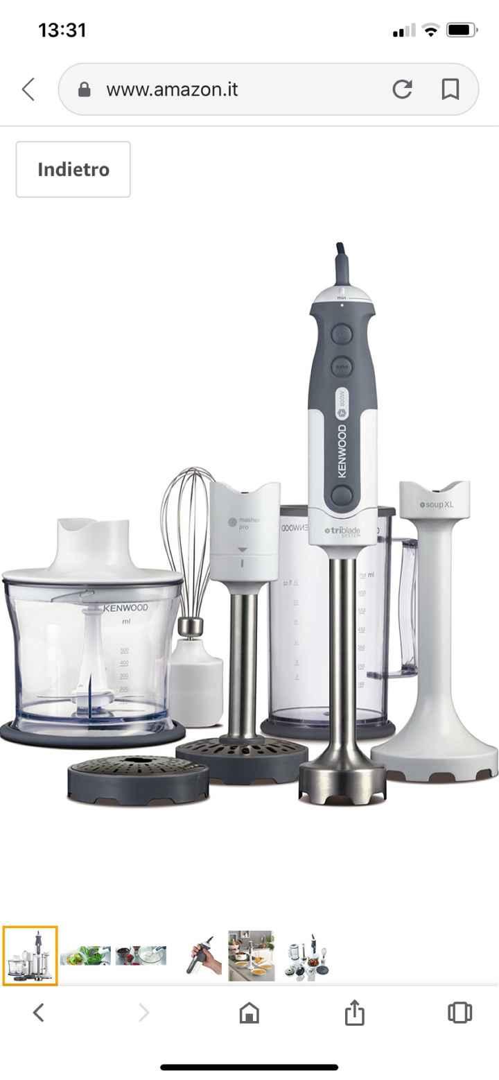 Help: frullatore / robot da cucina... 👩🏻🍳 - 1