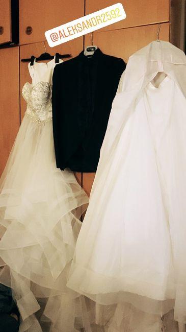 Tutorial lavaggio abito da sposa..in casa! 2