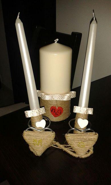 Matrimonio Simbolico In Giardino : Le mie candele per il rito fai da te forum matrimonio