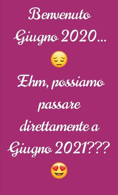 Benvenuto Giugno 2020... Arriva Presto 2021 1