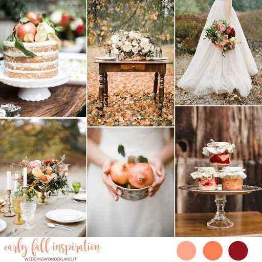Matrimonio secondo le stagioni (in estate, in inverno, in autunno e in primavera - 2