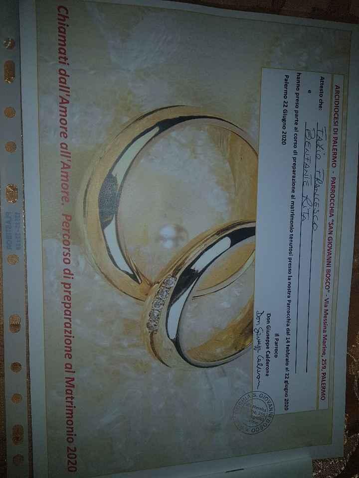 Finalmente 22 giugno Abbiamo finito il corso prematrimoniale!!😍 - 1