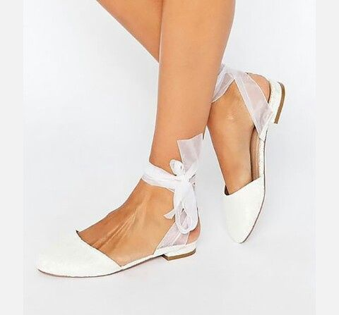 Chi si è sposata con scarpe/sandali bassi?? 7