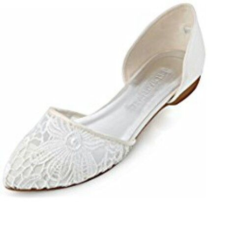 Chi si è sposata con scarpe/sandali bassi?? 8