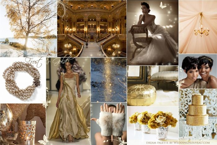 matrimonio oro e bianco