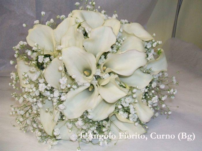 Bouquet di calle p gina 2 organizzazione matrimonio for Calle colorate non fioriscono