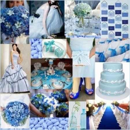 matrimonio blu cari