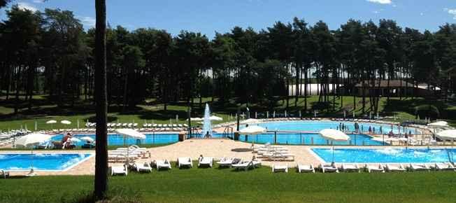 le tre piscine