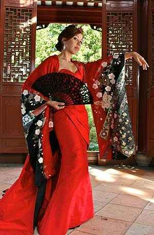 sposa con kimono