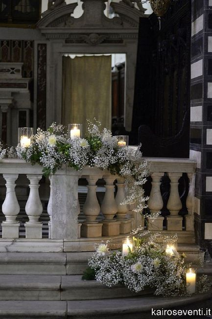 Elementi floreali chiesa 1