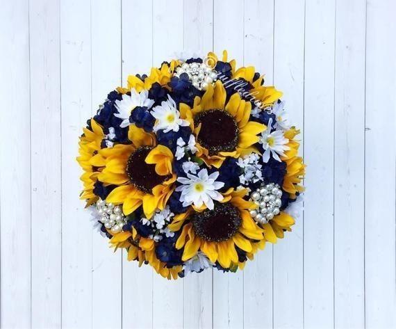Bouquet con girasoli 15