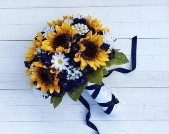 Bouquet con girasoli 16