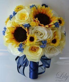 Bouquet con girasoli 17