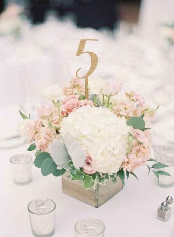 Numeri del tavolo - 1