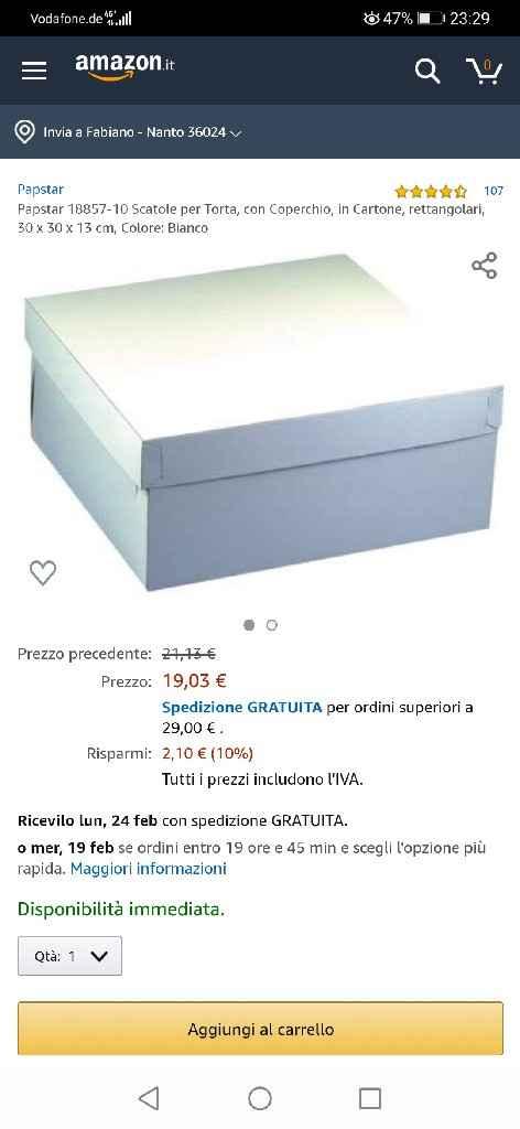 Bomboniere fai da te/scatole - 1