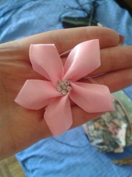 cuscino portafedi... un fiore