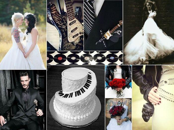Segnaposto Matrimonio Rock.Matrimonio Rock N Roll Qualche Spunto Per Voi Organizzazione