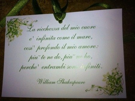 frasi sul matrimonio di william shakespeare