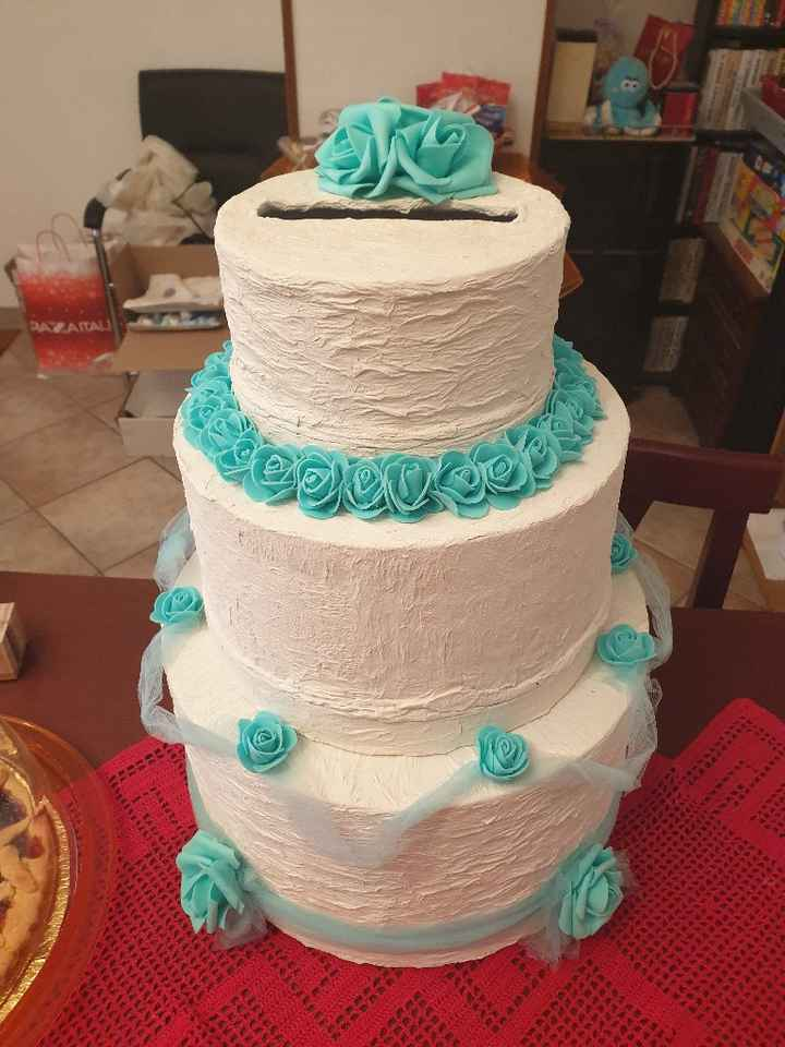 Torta porta buste - 3