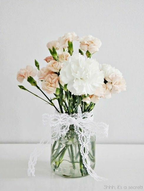 Garofani: fiori da matrimonio o da cimitero? 1