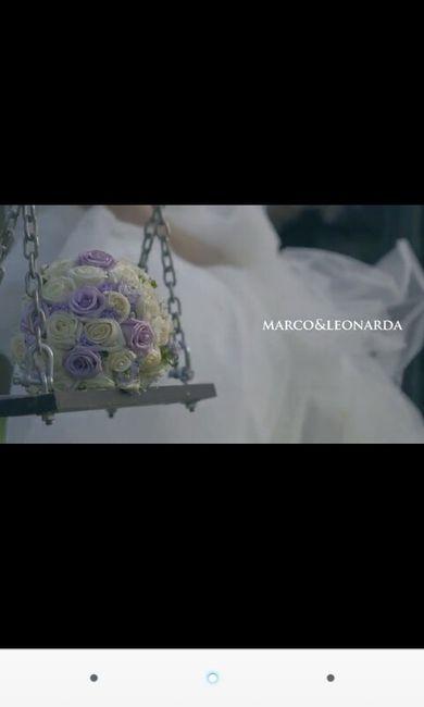 Bouquet bianco e glicine(lilla) - 1
